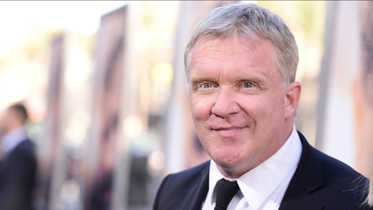 "Actor Anthony Michael Hall attends the premiere of the feature film ""The Water Diviner"" in Los Angeles on Thursday, April 16, 2015."