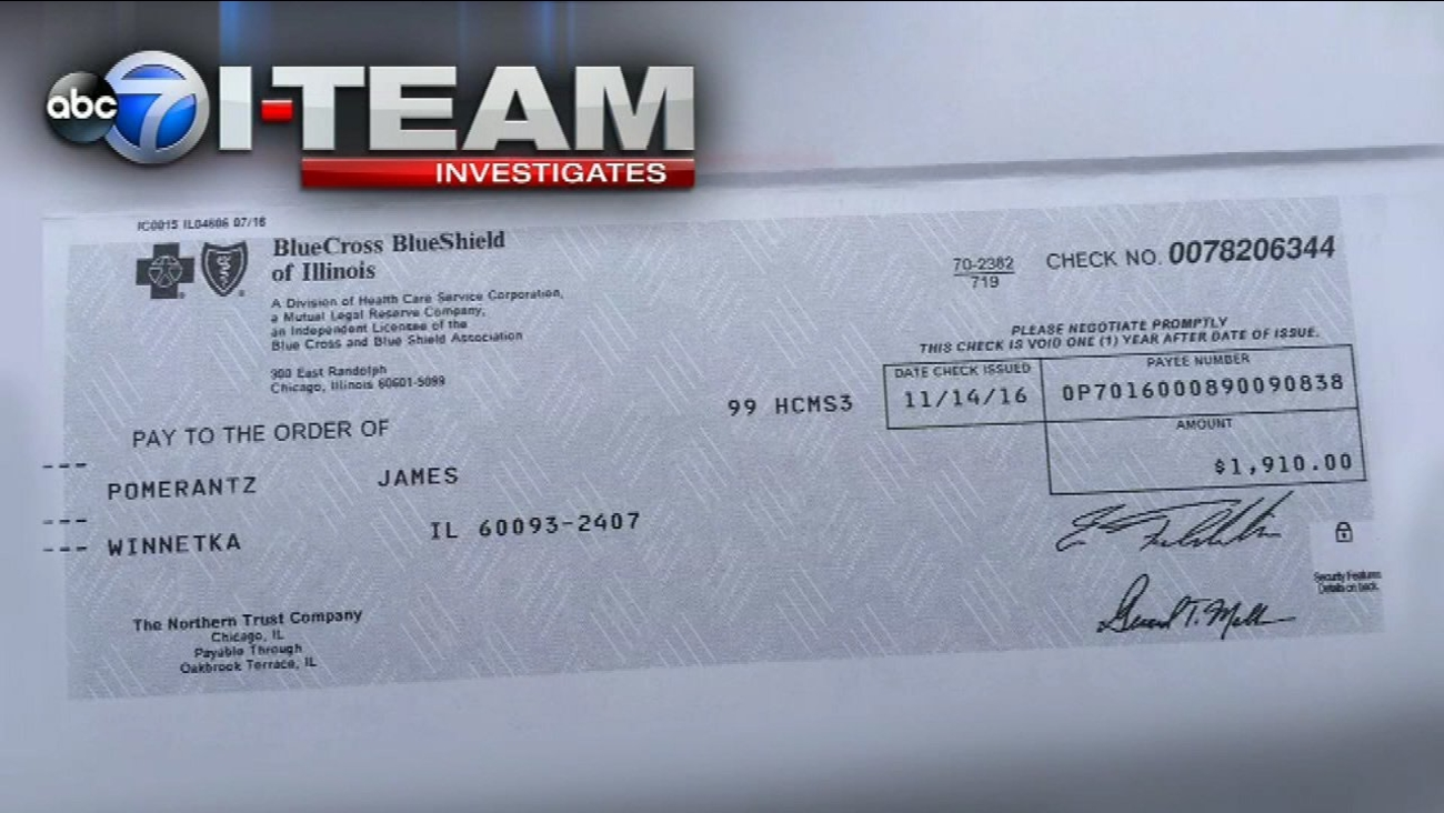 Cancer patient gets check from insurance company after I ...