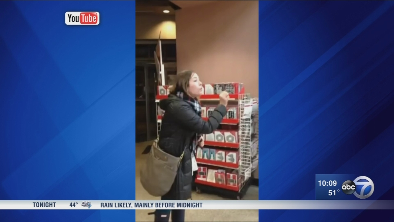 Woman's explosive rant at Lakeview store goes viral