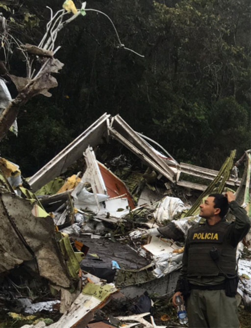 "<div class=""meta image-caption""><div class=""origin-logo origin-image none""><span>none</span></div><span class=""caption-text"">The Antioquia Police shared this photos of the aftermath of the crash. (Antioquia Police/Twitter)</span></div>"
