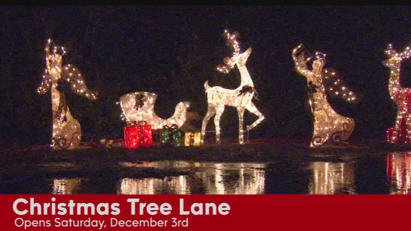 Christmas Tree Lane.Christmas Tree Lane Opens Saturday With Walk Night