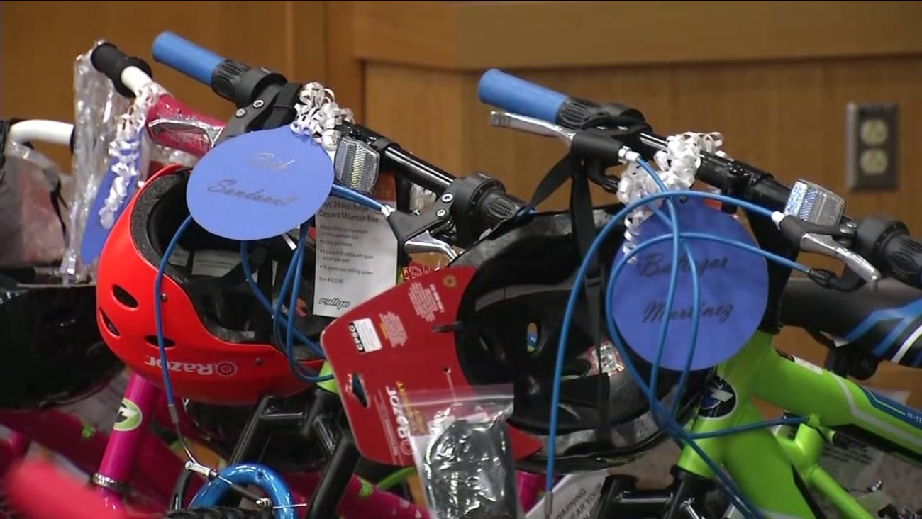 This is an undated image of bikes.