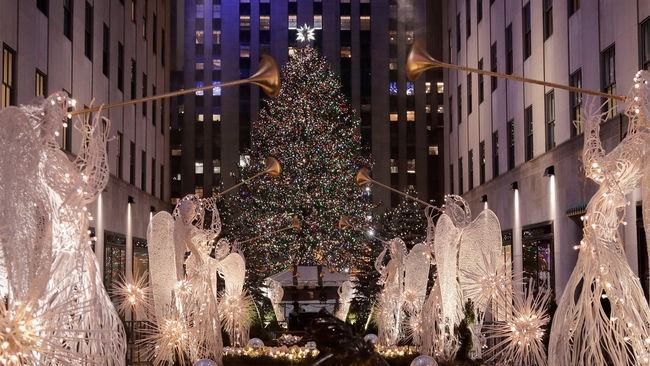 ex nypd officer charged with sex abuse at rockefeller christmas tree in nyc abc7nycom - How Many Lights Are On The Rockefeller Christmas Tree