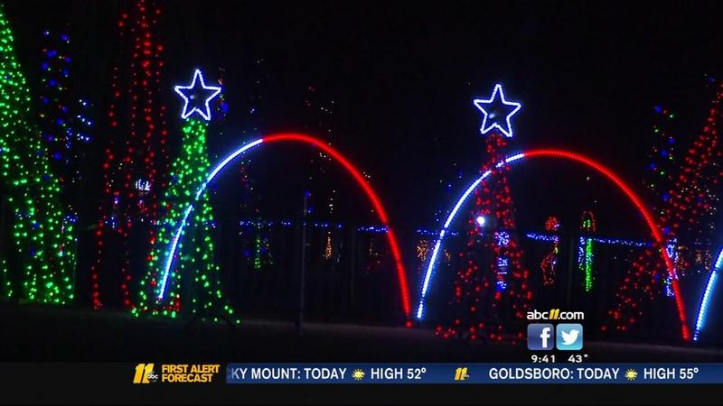 Christmas In The Park.Christmas In The Park Happening In Fayetteville
