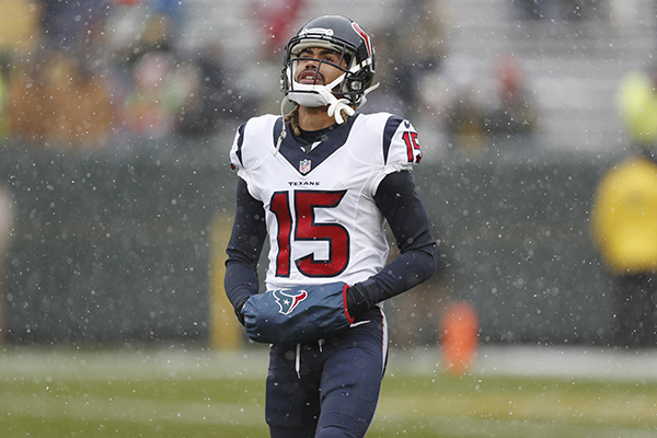 "<div class=""meta image-caption""><div class=""origin-logo origin-image ap""><span>AP</span></div><span class=""caption-text"">Houston Texans' Will Fuller warms up before an NFL football game against the Green Bay Packers Sunday, Dec. 4, 2016, in Green Bay, Wis. (AP Photo/Matt Ludtke) (AP)</span></div>"