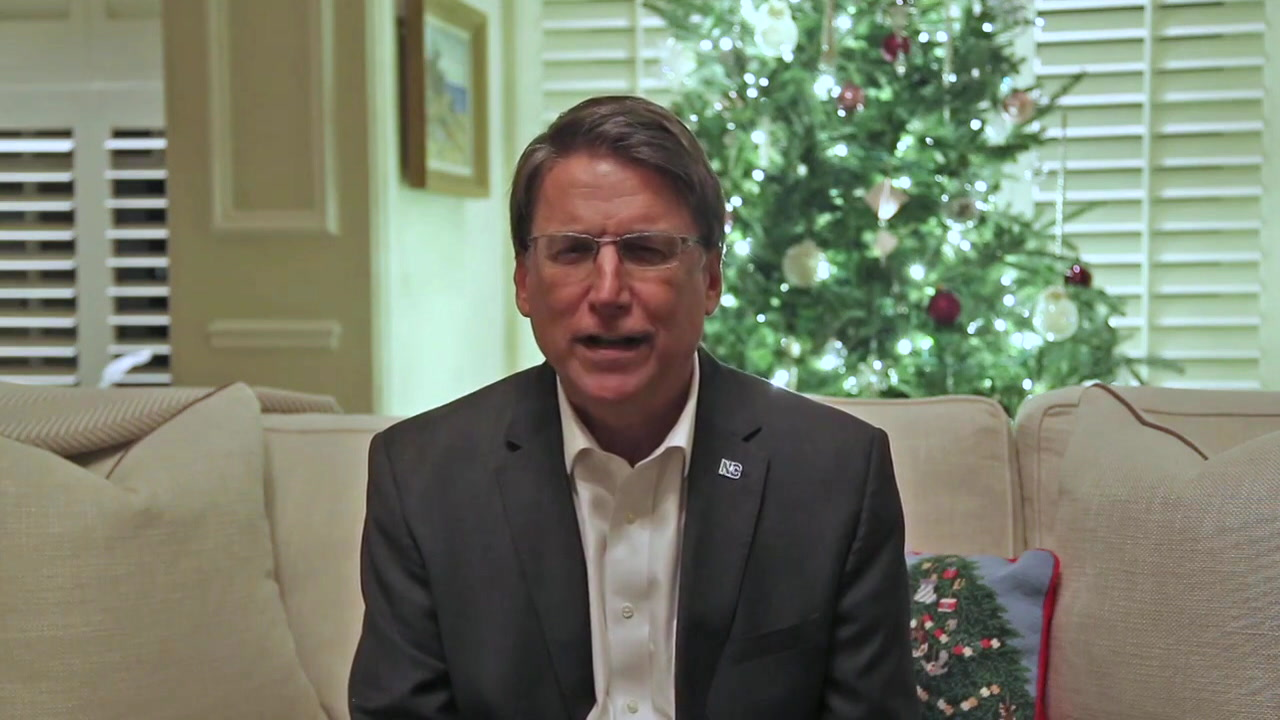 McCrory concedes in YouTube message