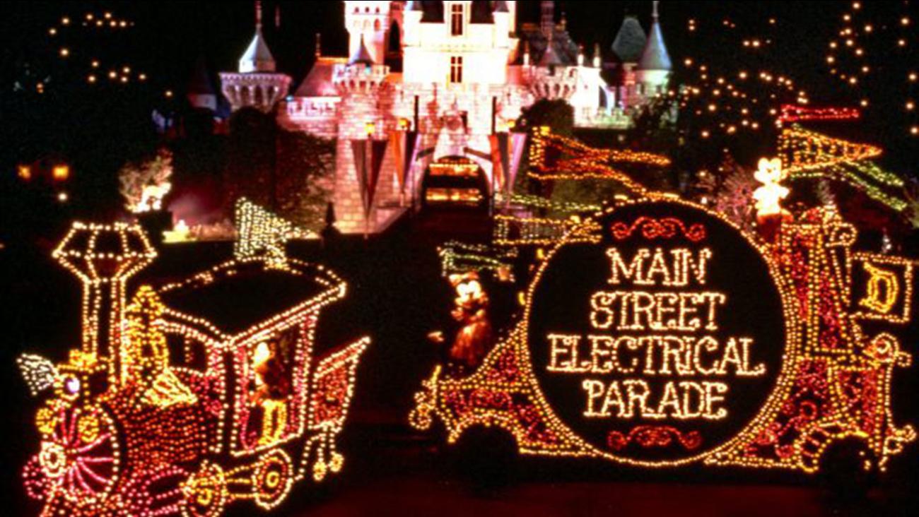 The Main Street electrical Parade returns to Disneyland on Jan. 20, 2017.