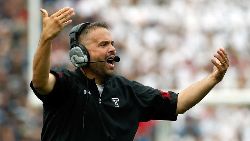 Video Rhule Leaving Temple For Baylor