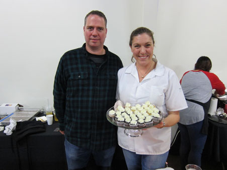 <div class='meta'><div class='origin-logo' data-origin='none'></div><span class='caption-text' data-credit=''>Jody Stevens of Jodycakes with Jeff McKnight.</span></div>