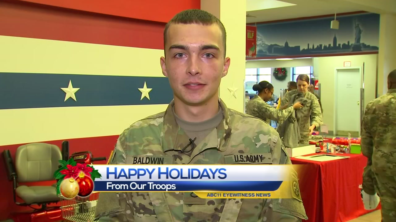 Holiday Greetings From Our Troops Abc11