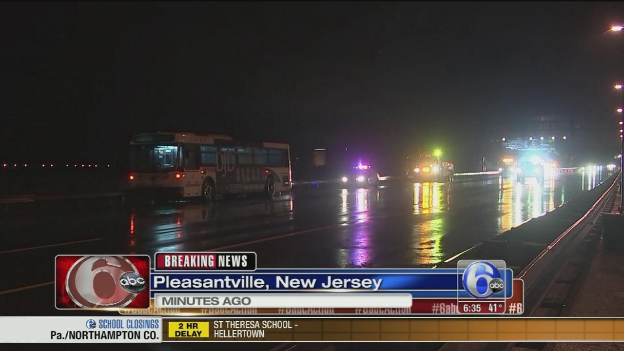 Deadly Crash Involving Nj Transit Bus On Atlantic City Expressway