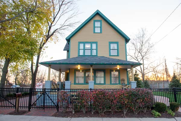 <div class='meta'><div class='origin-logo' data-origin='none'></div><span class='caption-text' data-credit='AP Images for A Christmas Story'>In this image released on Wednesday, Dec. 2, 2015, the exterior of A Christmas Story House and Museum in Cleveland. (Jason Miller/AP Images for A Christmas Story House and Museum)</span></div>