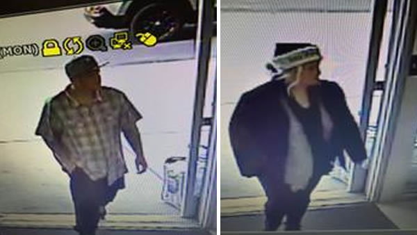 Petaluma police need help identifying these two grand theft suspects, seen on surveillance video.