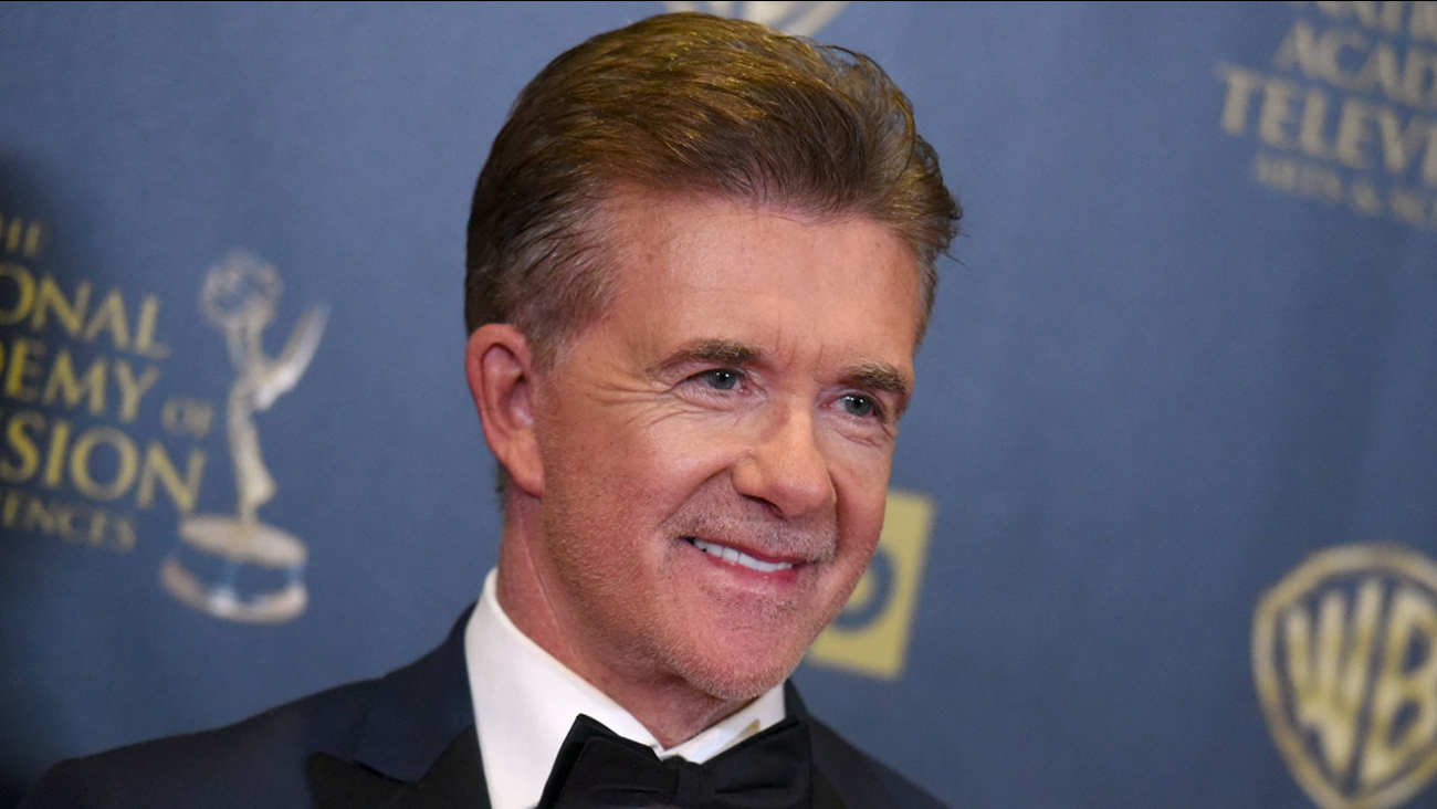 Alan Thicke, pictured in 2015 at the 42nd annual Daytime Emmy Awards in Burbank.