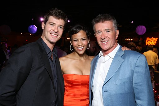<div class='meta'><div class='origin-logo' data-origin='AP'></div><span class='caption-text' data-credit='Eric Charbonneau/Invision/AP'>Robin Thicke, Paula Patton and Alan Thicke at the World Premiere of Touchstone Pictures' &#34;Swing Vote&#34; on July 24, 2008 at the El Capitan Theatre in Hollywood, CA.</span></div>