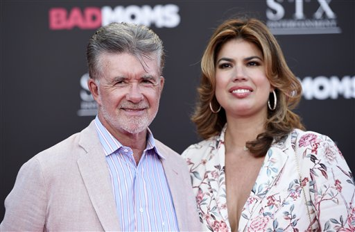 <div class='meta'><div class='origin-logo' data-origin='AP'></div><span class='caption-text' data-credit='Chris Pizzello/Invision/AP'>Alan Thicke and his wife Tanya pose together at the premiere of the film &#34;Bad Moms&#34; at the Mann Village Theatre on Tuesday, July 26, 2016, in Los Angeles.</span></div>