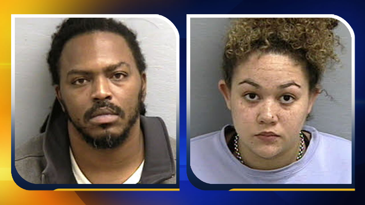 Zacharus Jovon Foxx and Deanna Nakol Seeley (images courtesy Lee County Sheriff's Office)