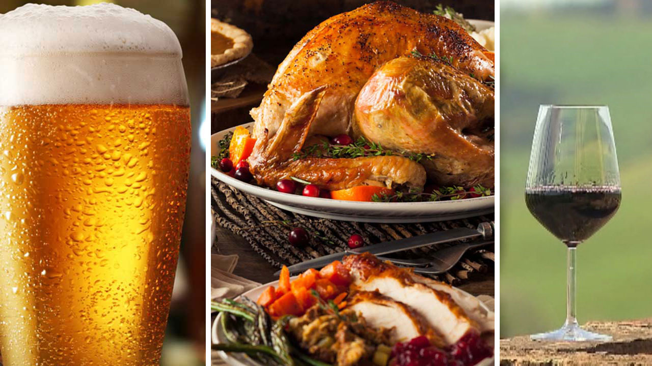 Holiday food and drink pairings