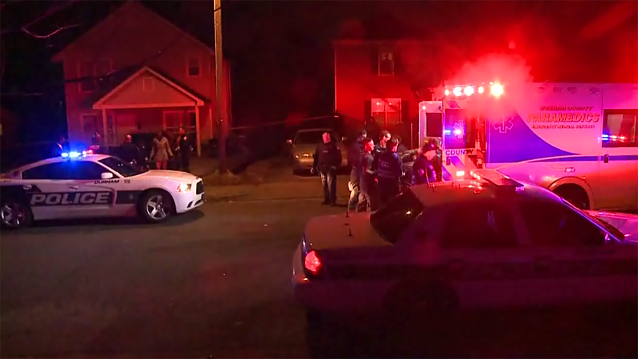 Tuesday's Elm Street shooting became a homicide investigation when Timothy Devon Fuller of Durham died from his injuries.