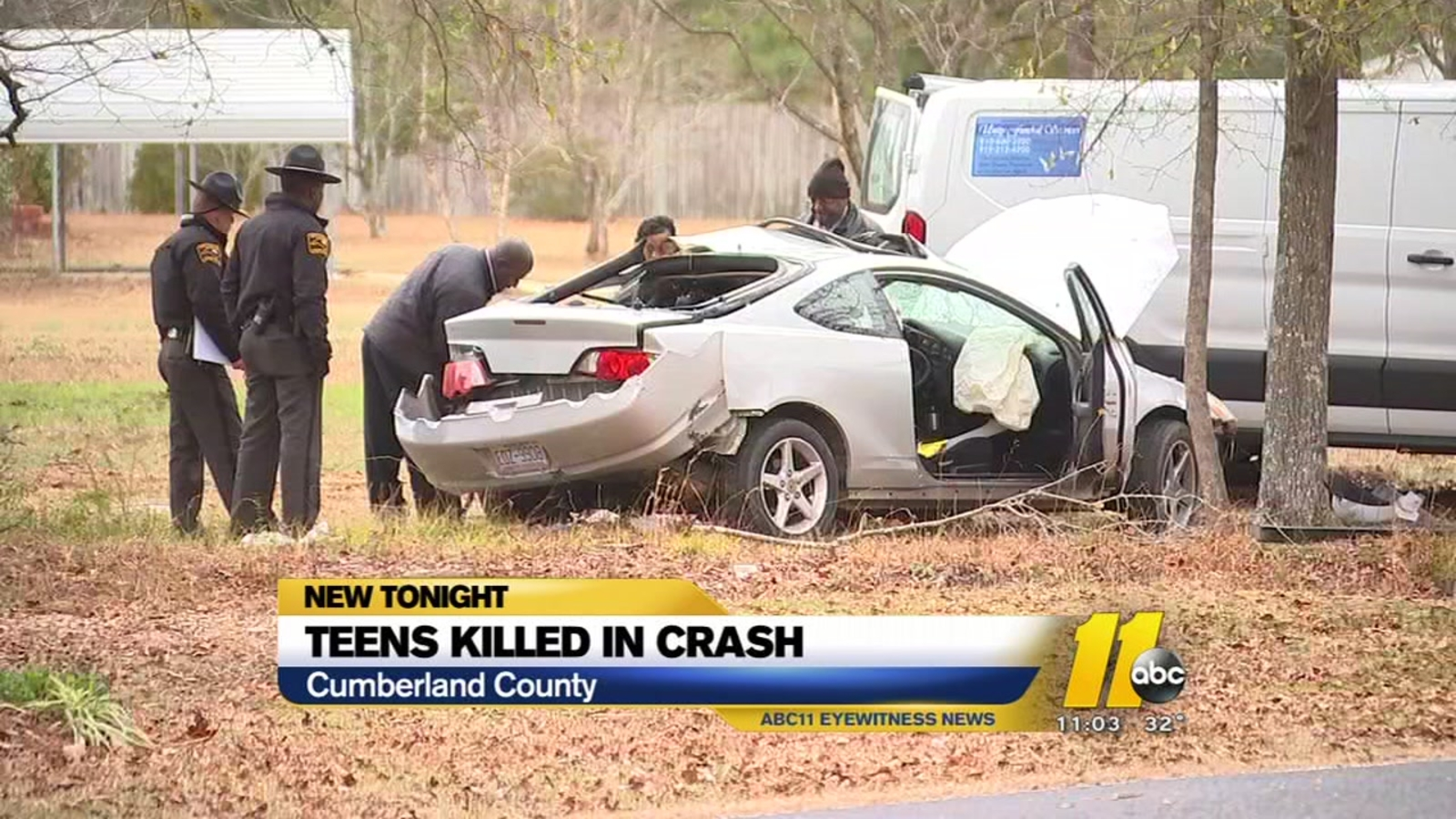 Speeding A Factor In Crash That Killed 2 Fayetteville