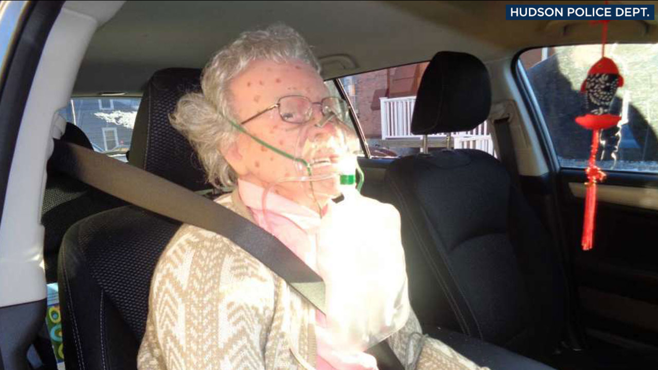 "A mannequin that looked like an elderly woman fooled Hudson Police Department officers in New York, causing them to break a car window to ""save"" her on Friday, Dec. 16, 2016."