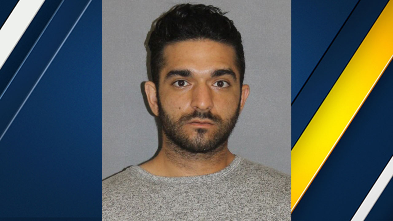 LA Fitness vehicle burglary suspect Ramtin Kadkhodayan, 26, of Granada Hills.