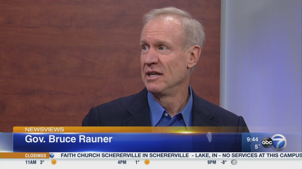 Newsviews Part 1: Governor Bruce Rauner