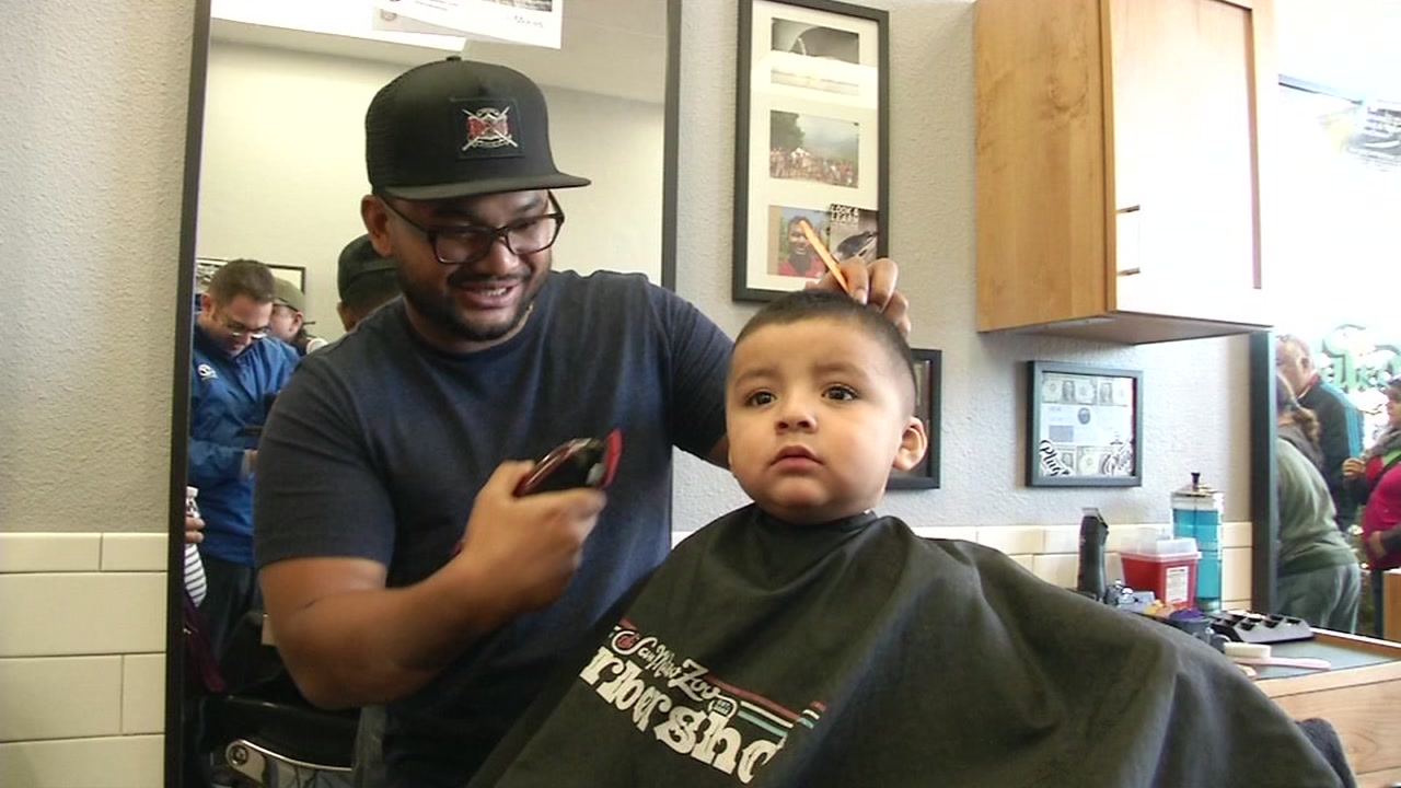 San Mateo Barbershop Gives Back To People With Special Needs