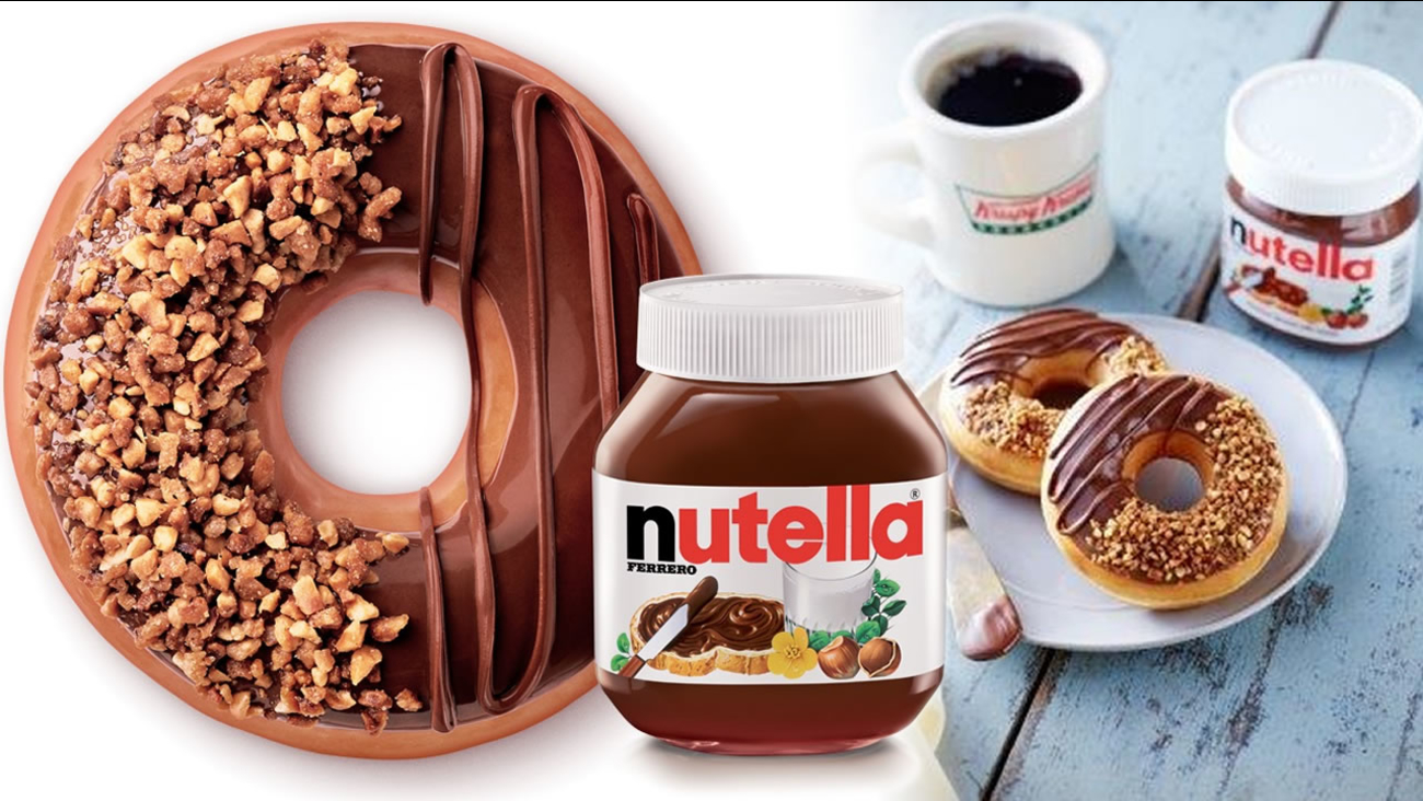 The new Krispy Kreme Nutty Cocoa Ring