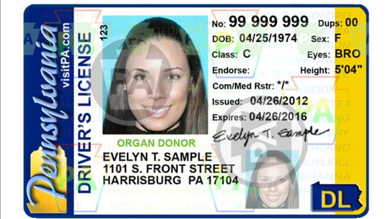 pennsylvania drivers license background check