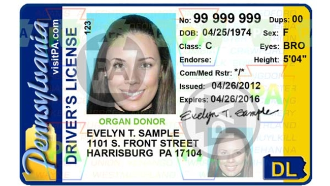 In january 2018 pennsylvania drivers license not valid id for air in january 2018 pennsylvania drivers license not valid id for air travel 6abc thecheapjerseys Gallery