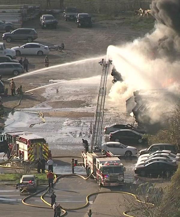 <div class='meta'><div class='origin-logo' data-origin='KTRK'></div><span class='caption-text' data-credit=''>Fire burning in Fort Bend County</span></div>