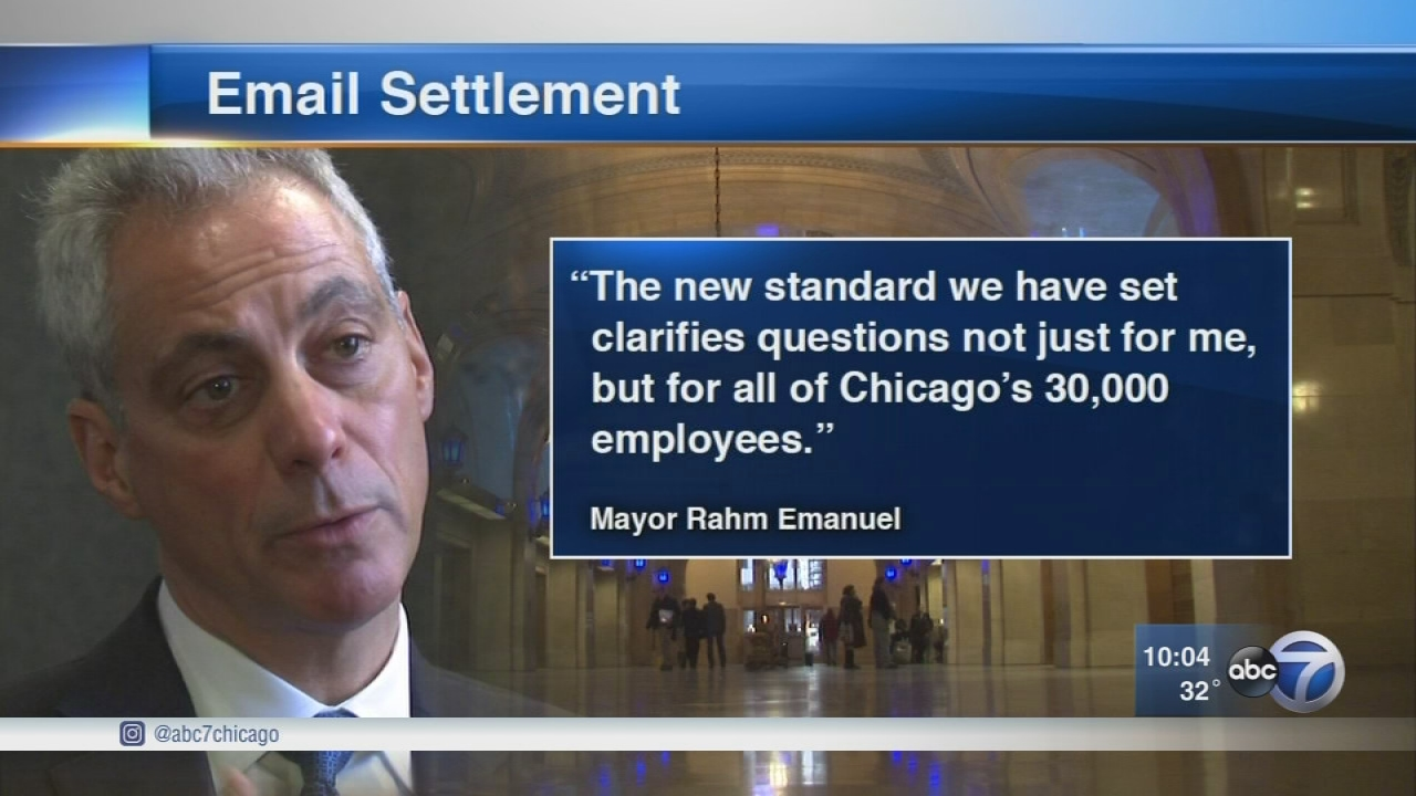 Mayor Emanuel's personal emails about city business released