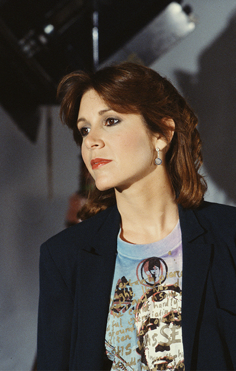 <div class='meta'><div class='origin-logo' data-origin='none'></div><span class='caption-text' data-credit='CBS Photo Archive/Getty Images'>Carrie Fisher In 'Classic Creatures: Return Of The Jedi', 1983.</span></div>
