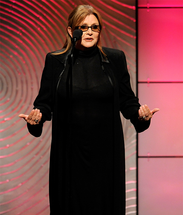 "<div class=""meta image-caption""><div class=""origin-logo origin-image none""><span>none</span></div><span class=""caption-text"">Carrie Fisher presents the award for outstanding special class animated program at the 40th Annual Daytime Emmy Awards on Sunday, June 16, 2013, in Beverly Hills, Calif. (Chris Pizzello/Invision/AP)</span></div>"