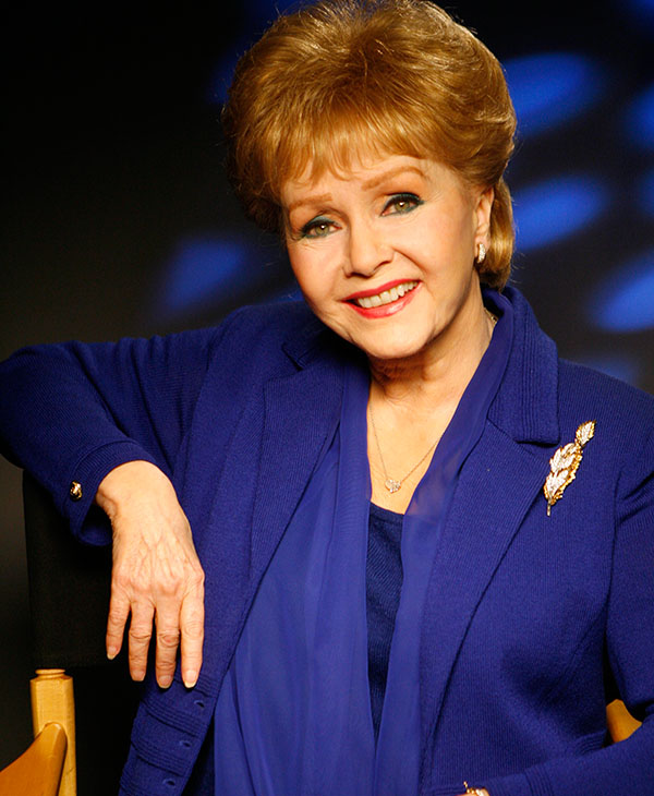 <div class='meta'><div class='origin-logo' data-origin='AP'></div><span class='caption-text' data-credit='AP Photo/Damian Dovarganes'>Actress Debbie Reynolds poses for a photo on the Warner Bros. lot in Burbank, Calif. on Monday, March 9, 2009.</span></div>
