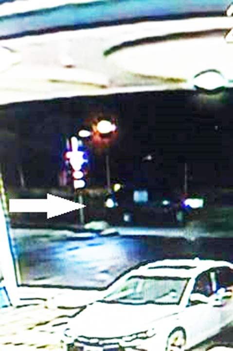 Riverside police released this photo of an attempted sexual assault suspect's vehicle.