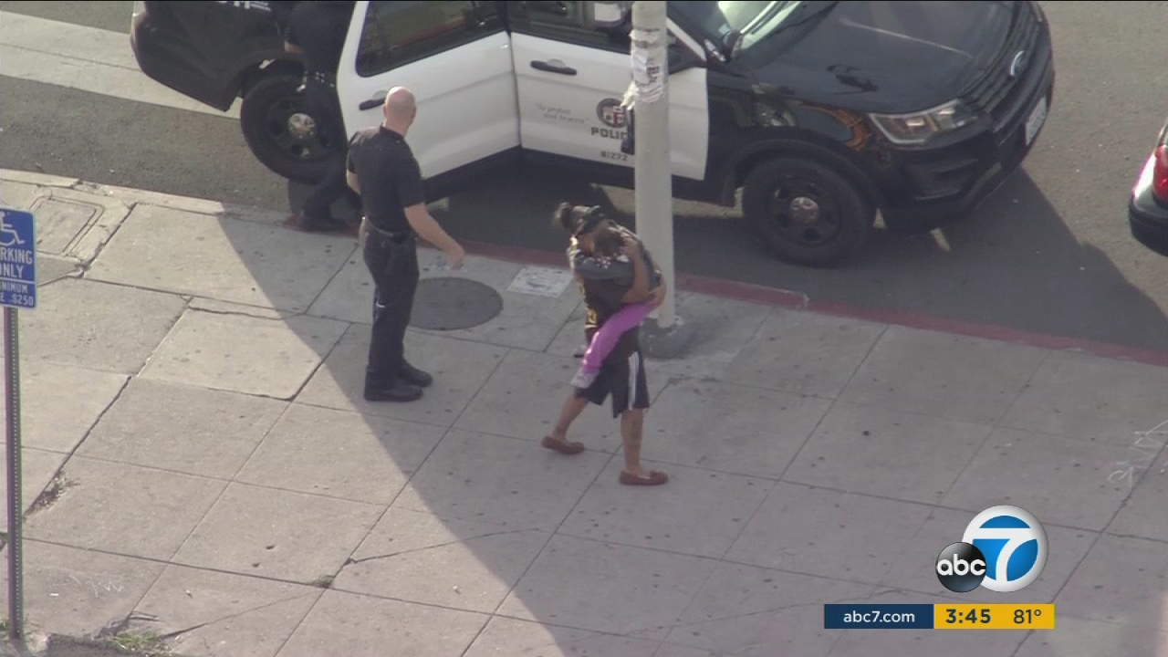 A 6-year-old girl was found safe after she was kidnapped during a car theft outside a South Los Angeles laundromat on Thursday, Dec. 29, 2016, according to Los Angeles police.