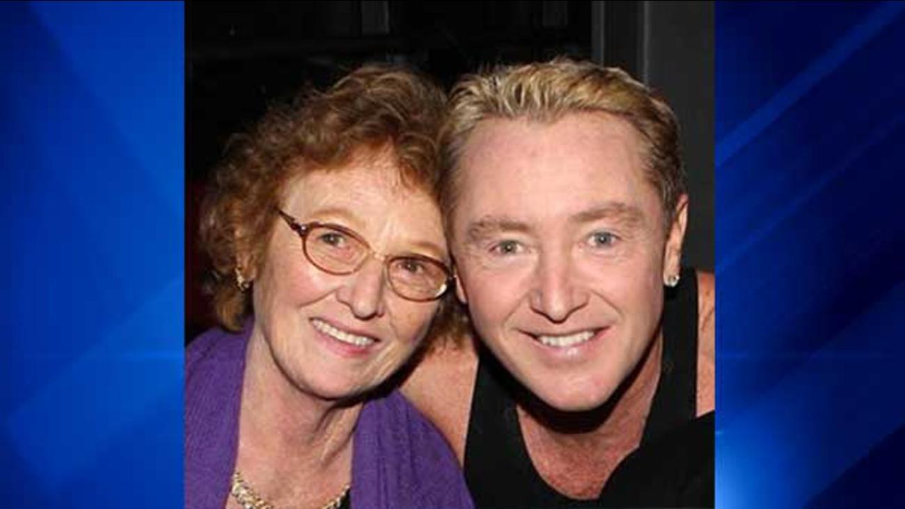 Elizabeth Flatley and her son, Michael Flatley.