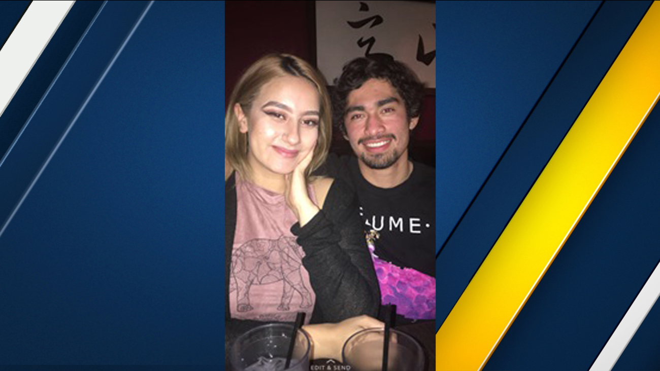 Olivia Hannah Gonzalez and Brian Fernandez are seen in a photo released by the Los Angeles Police Department.