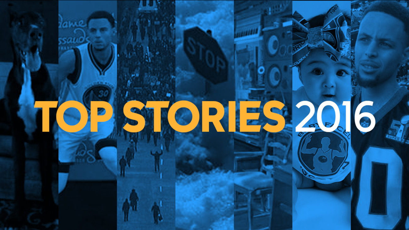 Here are the top Bay Area stories on the ABC7 News website for 2016.