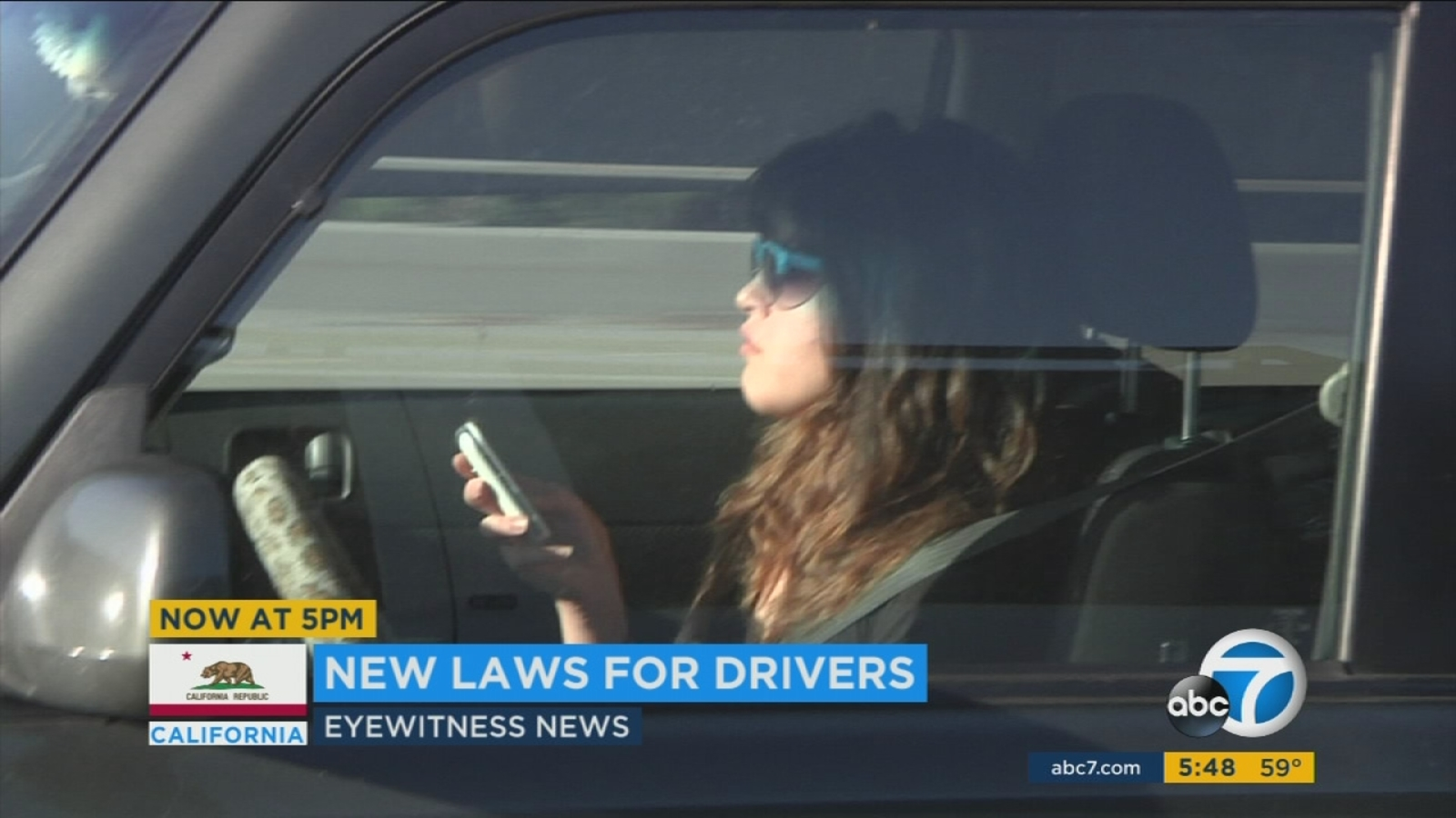 New 2017 driving laws in California