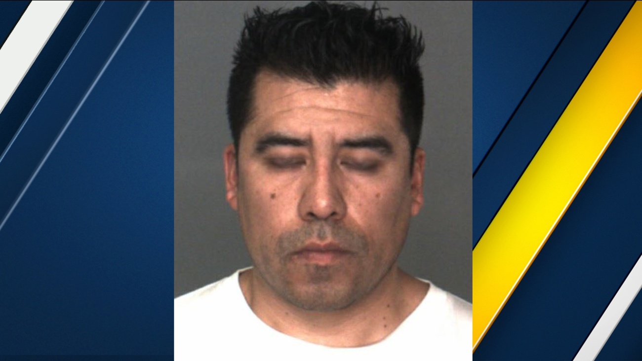 David Ceballos, a 34-year-old San Bernardino County sheriff's deputy, is seen in a booking photo after his arrest Friday, Dec. 30, 2016.