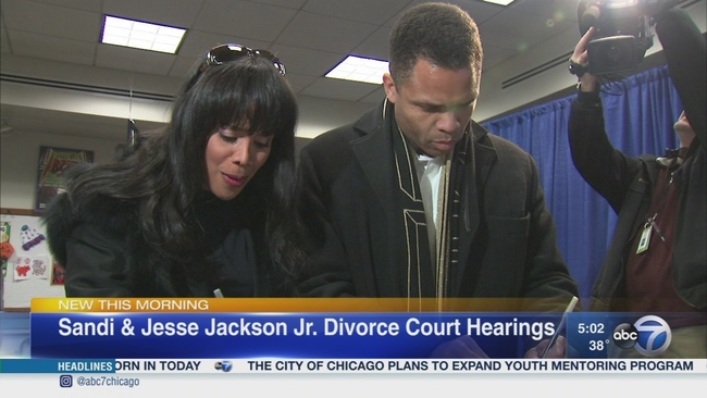 Jesse Jackson Jr Fights To Keep Divorce Case In Illinois