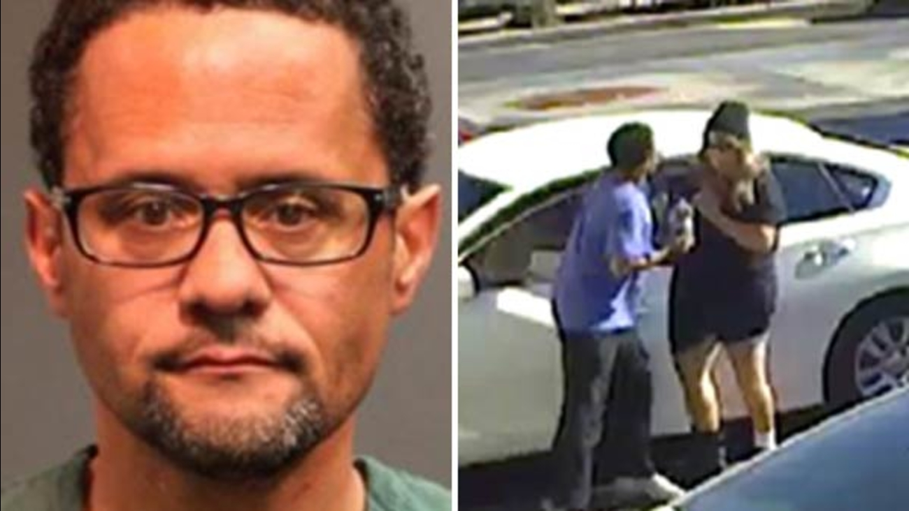 Authorities said 47-year-old Malcolm May was arrested after he attacked a Lyft driver in Santa Ana on Friday, Dec. 30, 2016.