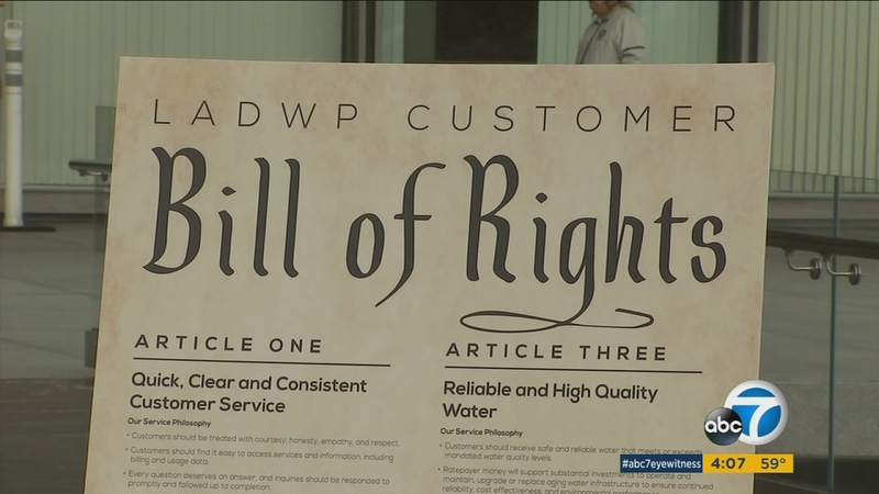 LADWP introduces 'customer bill of rights'