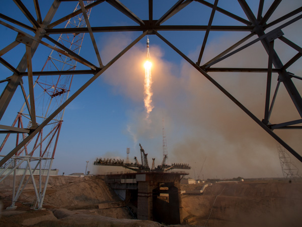 "<div class=""meta image-caption""><div class=""origin-logo origin-image none""><span>none</span></div><span class=""caption-text"">The Soyuz MS-01 spacecraft launches from the Baikonur Cosmodrome, Thursday, July 7, 2016. (NASA/Bill Ingalls)</span></div>"