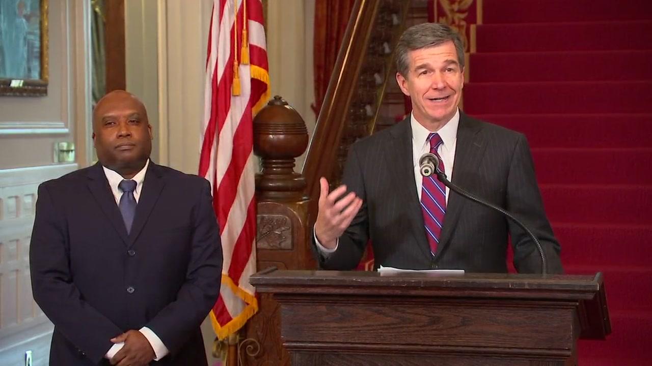 Governor Roy Cooper names Erik Hooks to be secretary of Public Safety