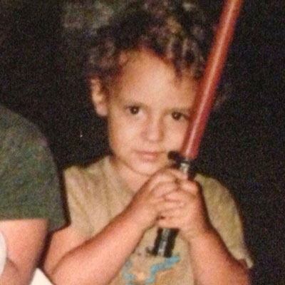"<div class=""meta image-caption""><div class=""origin-logo origin-image none""><span>none</span></div><span class=""caption-text"">Who is this young Jedi? If you guessed reporter Steve Romo, you're right.</span></div>"