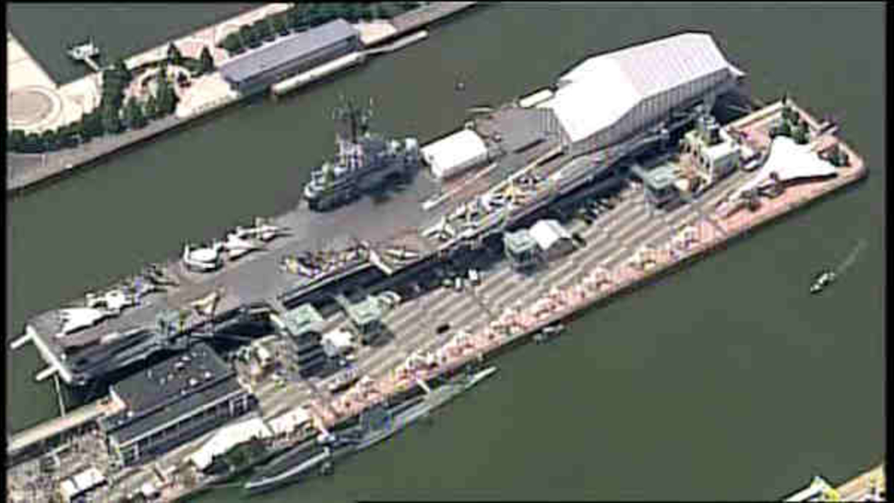 3 injured in transformer incident at Intrepid Museum | abc7ny com